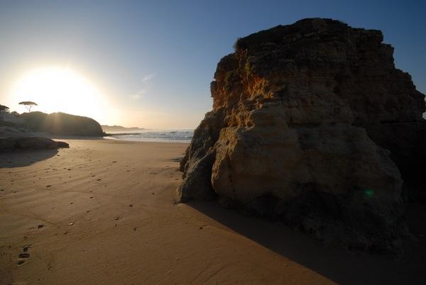 B&B Cas al Cubo - Sunrise on Falésia beach - Zonsopgang op het strand van Falésia
