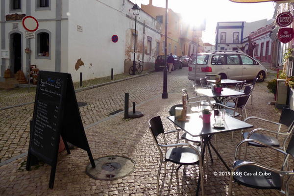 Moncarapacho restaurant Da Ana