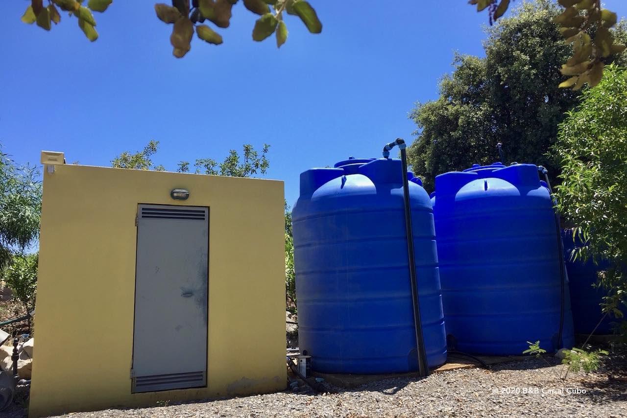 Wateropslag B&B Cas al Cubo Tavira