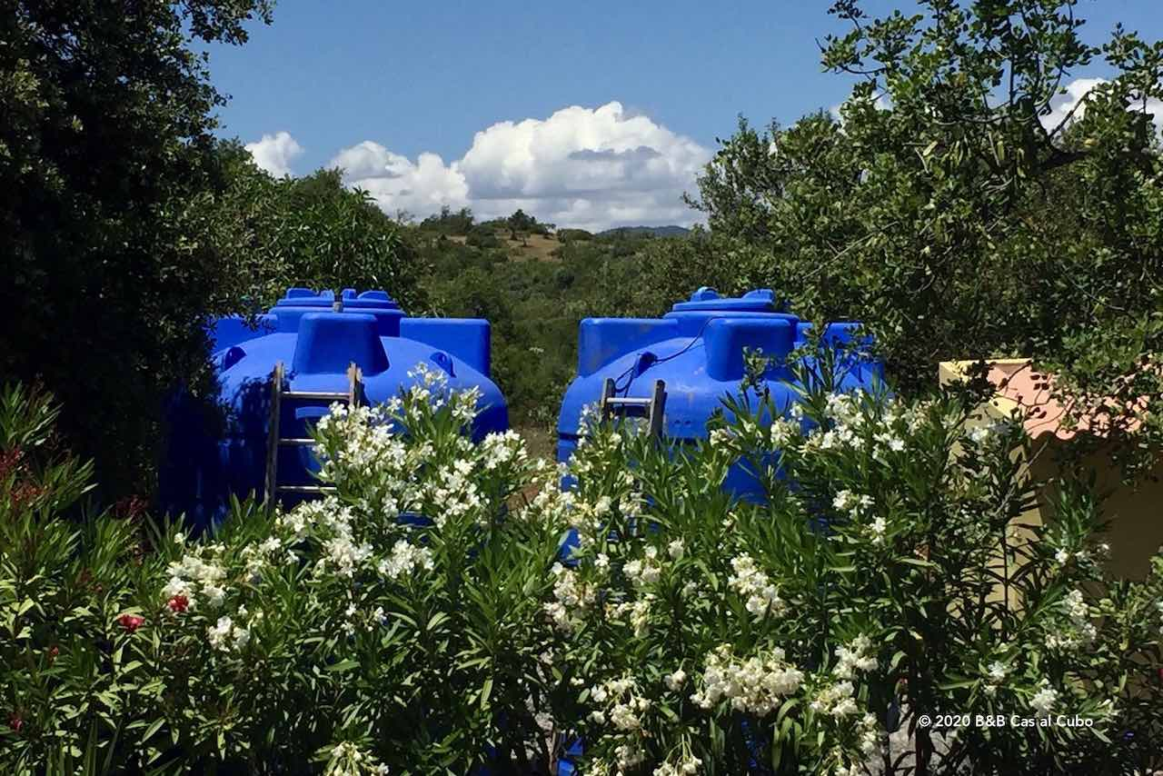 B&B Cas al Cubo Tavira watertanks